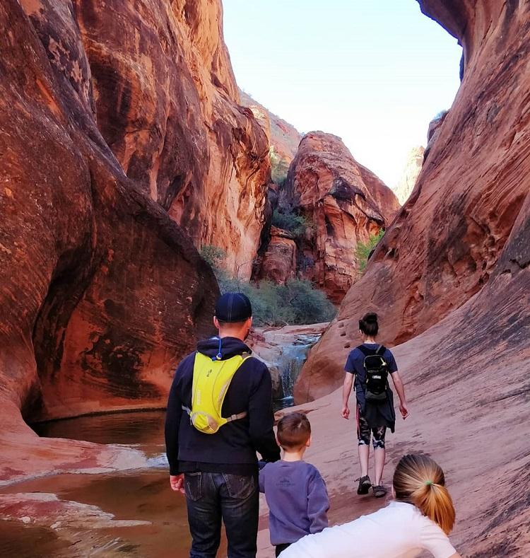 Vaihto-oppilas Grand Canyonilla