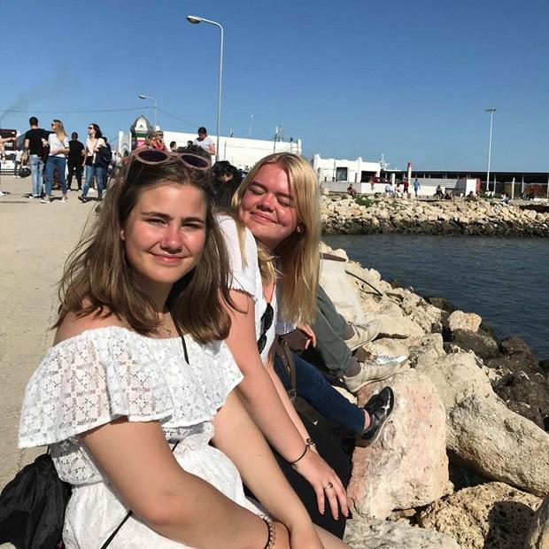 Vaihto-oppilaat vierailulla Lissabonissa