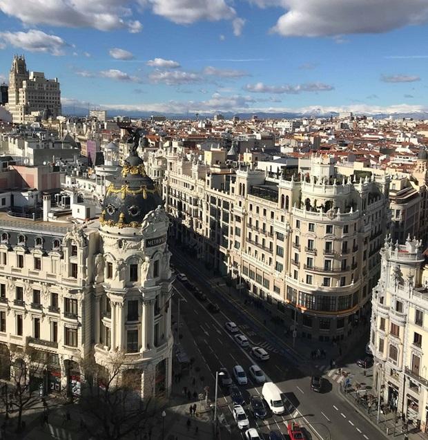 Näköalaa Madridissa