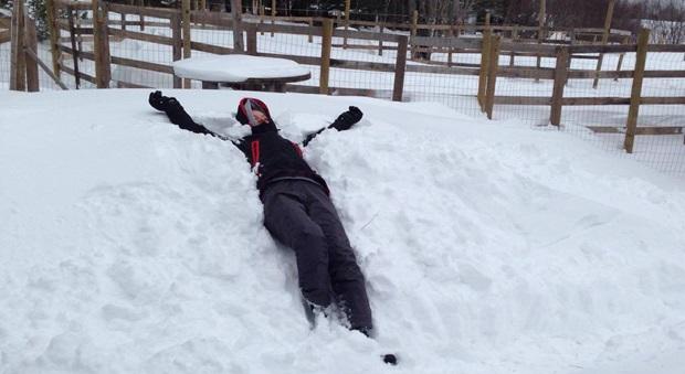 Snødager i Canada