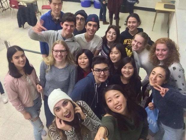 Utvekslingsstudentene i Canada