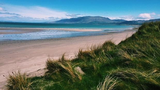 Utveksling i Irland strand