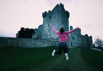 Irland er vakkert