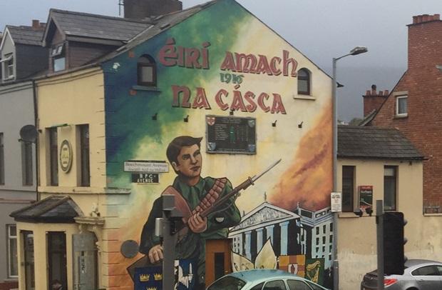 Veggkunst i Belfast