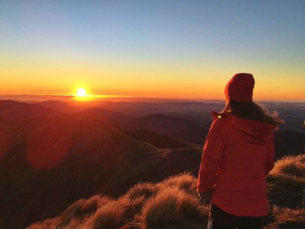 Vakre omgivelser i New Zealand