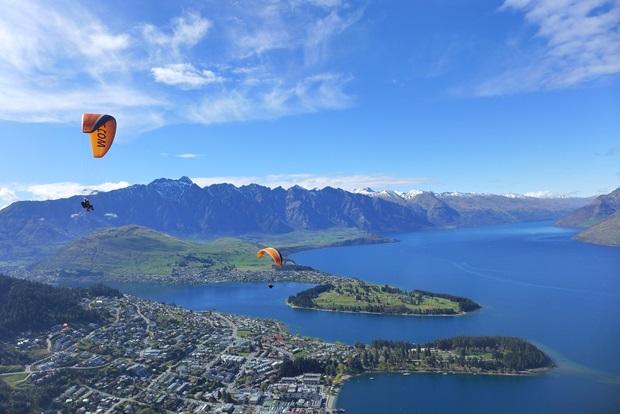 Nydelig utsikt i New Zealand