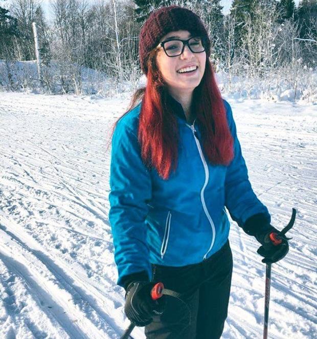 Sienna på skitur
