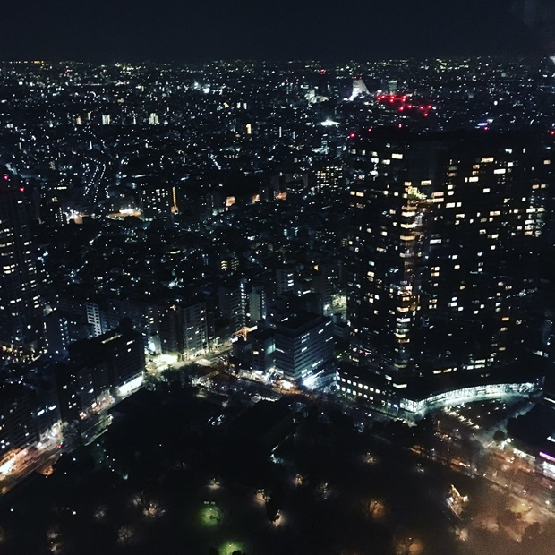 Kveldsutsikt i Japan