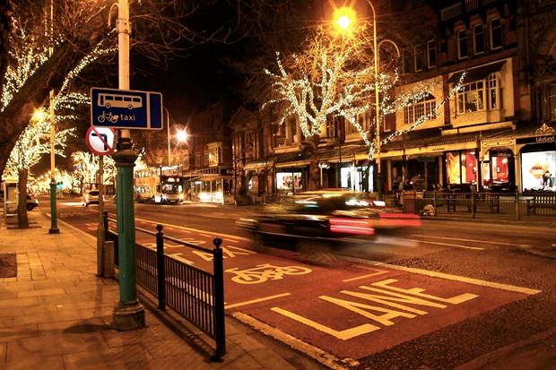 Gatebilde fra England