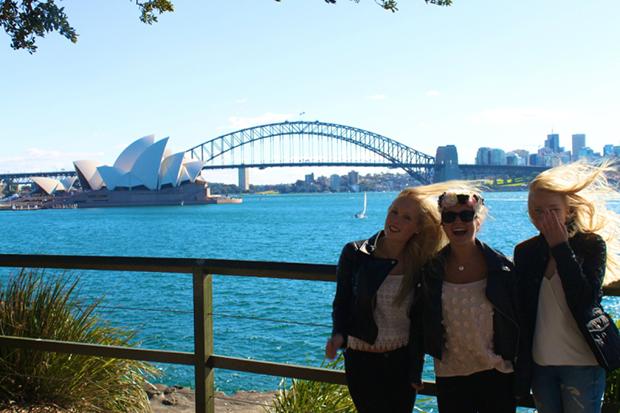 Venner i Sydney