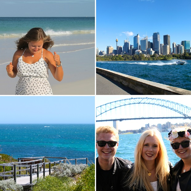 Kristi savner Australia