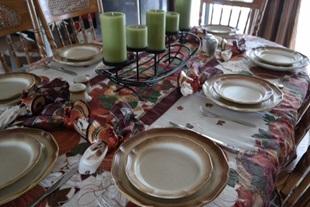 Thanksgivingbord i USA