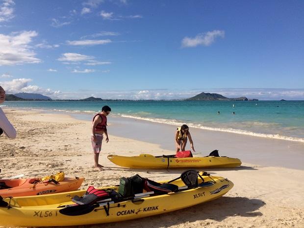 Ut på vannet Hawaii