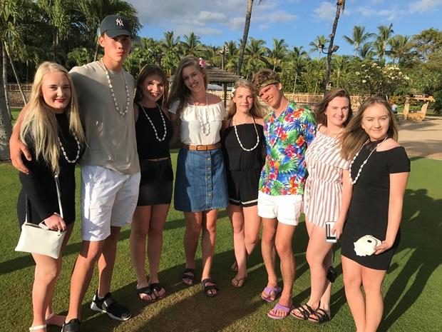 Gruppebilde Hawaii