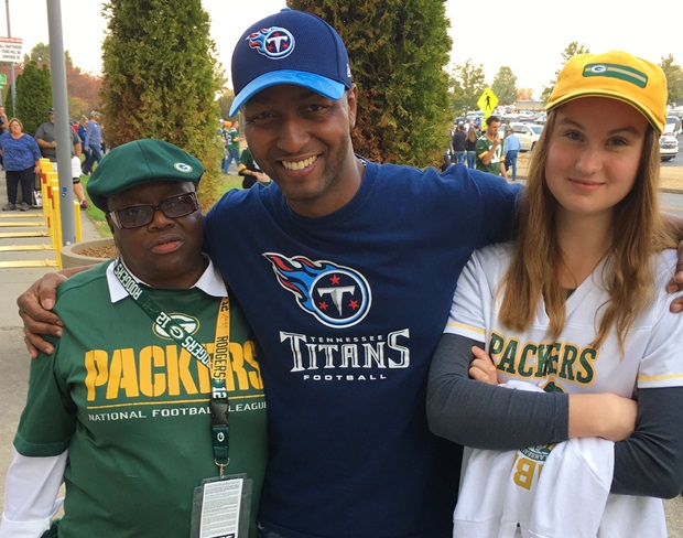 Green Bay Packers fans!