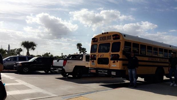 Skolebussene
