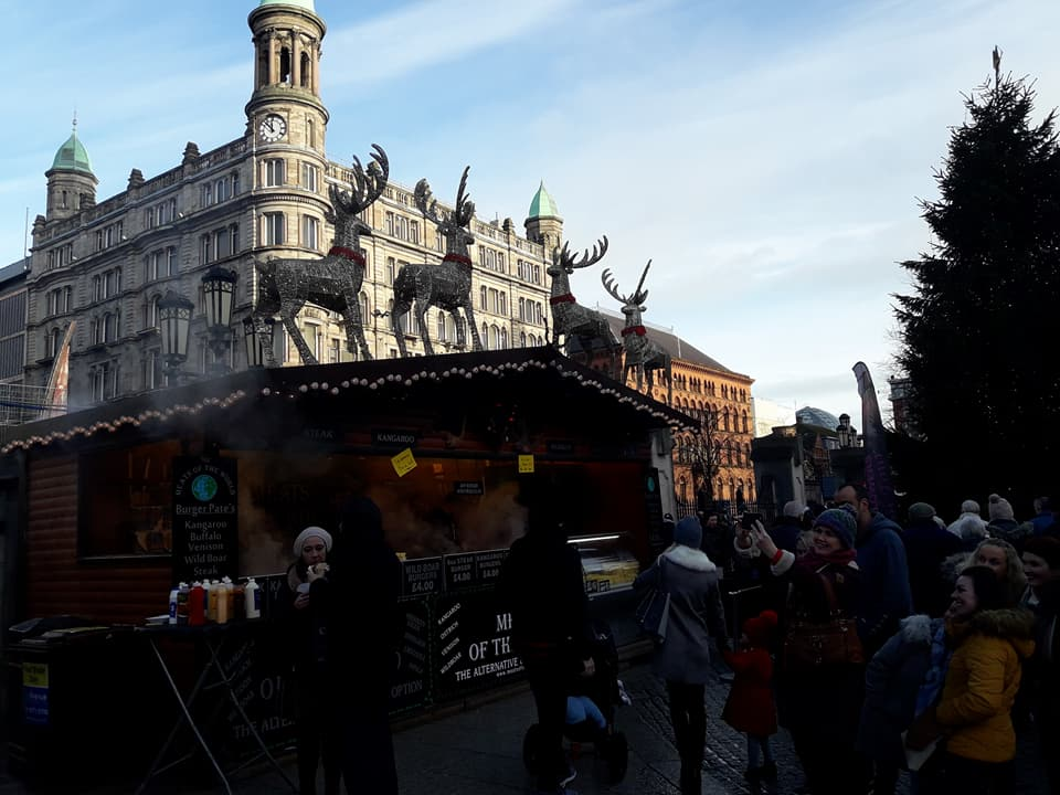 borghild på utveksling i Irland