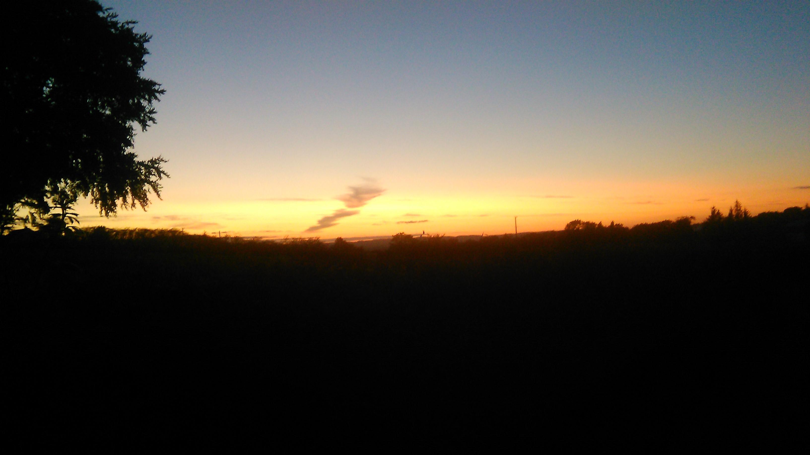 solnedgang i irland