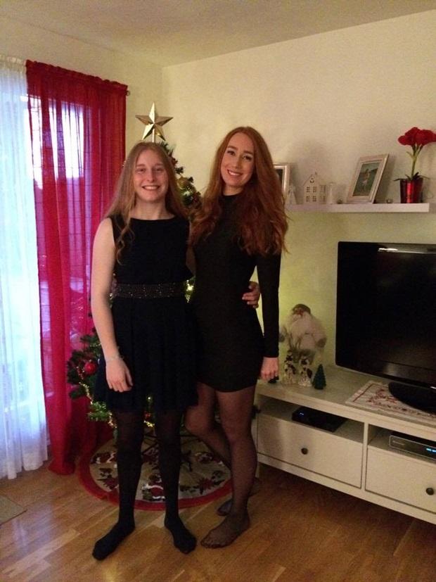 utvekslingselev feirer jul