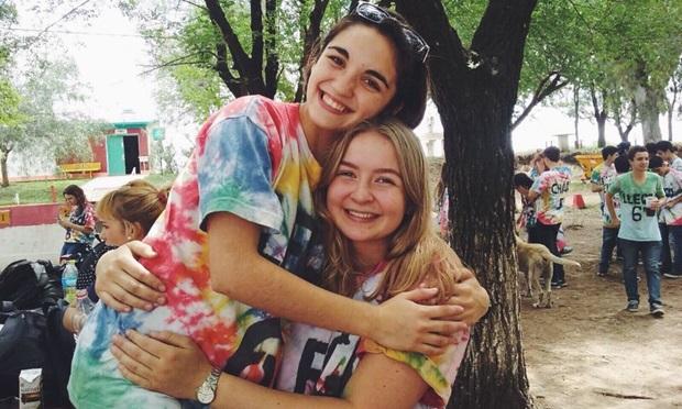 Hanna på utveksling i med Argentinsk venn