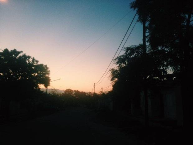 Kveldsutsikt i Argentina