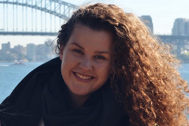 Hanne Sofie i Australia