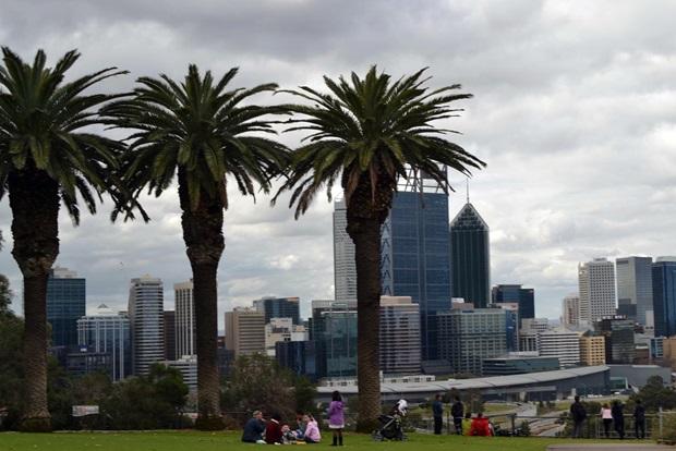 Nydelig utsikt over Perth