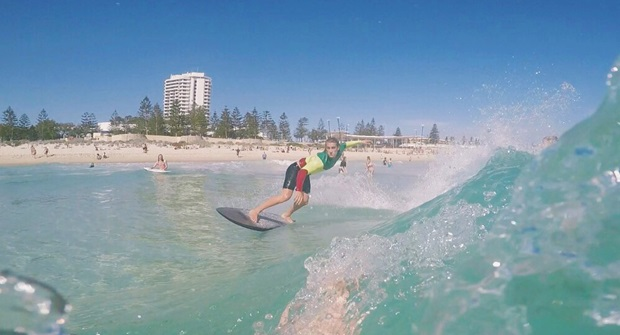 Lifet på surfebrett i Perth