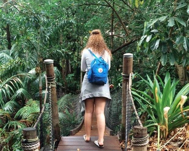 Utvekslingsstudent på tur i Australia.