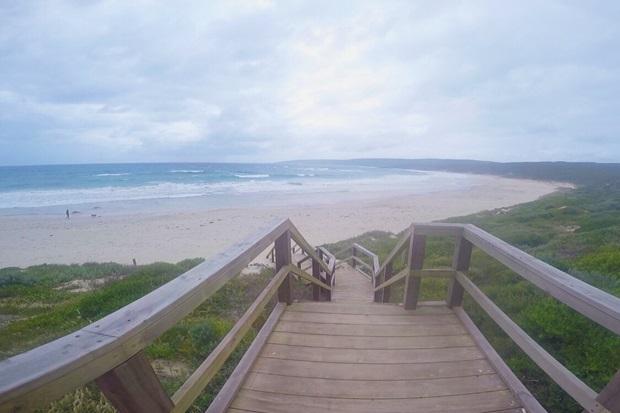 Utsikt til stranden i Perth