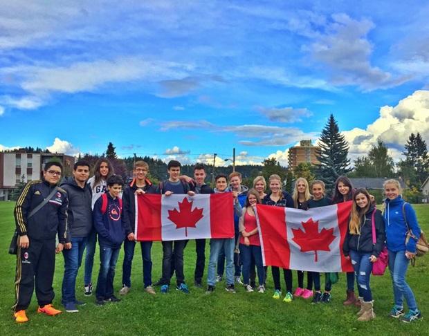 Utvekslingsstudenter i Canada
