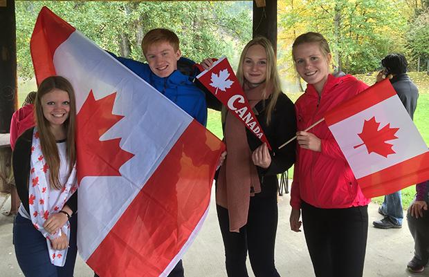 Skandinaviske utvekslingsstudenter i Canada!