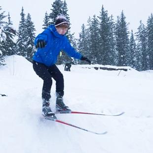 Skitur i Canada
