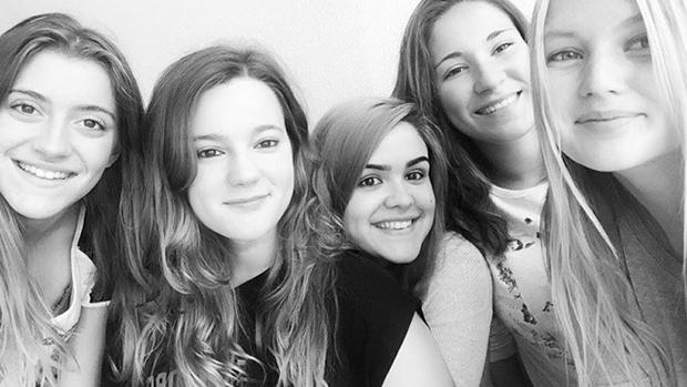 Maria og venner