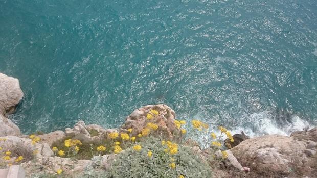 Vakkert hav Spania