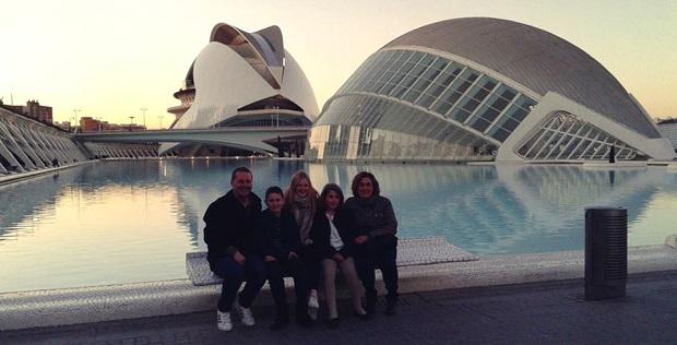Utvekslingsstudent med Spansk vertsfamilie