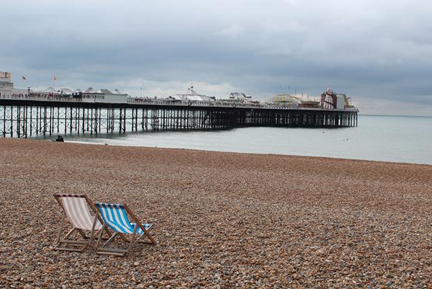 Strandstoler i Brighton