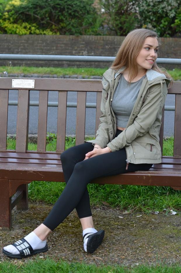 Eleonore på utveksling i England