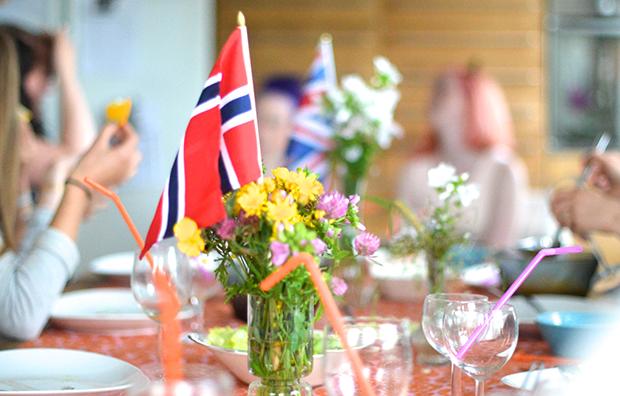 avskjedsfest for norsk utvekslingsstudent
