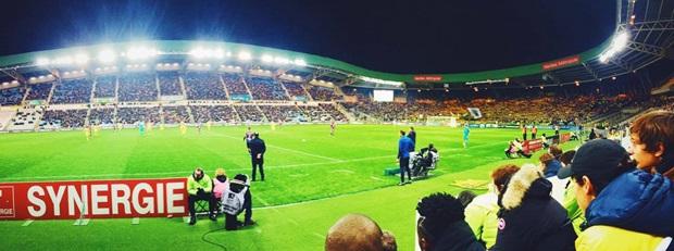 Fotball kamp i Frankrike
