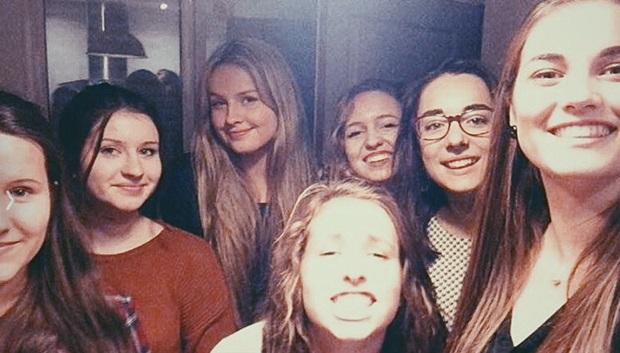 Dorthe med Franske venner