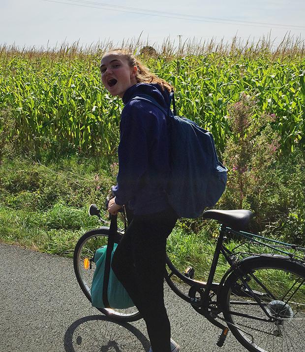 Sykkeltur i Frankrike