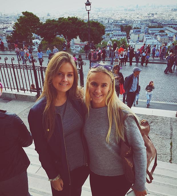 Norske utvekslingsstudenter i Frankrike