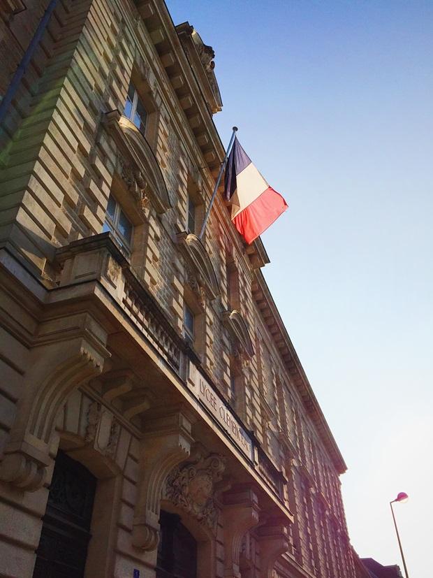 Vakker arkitektur i Frankrike.