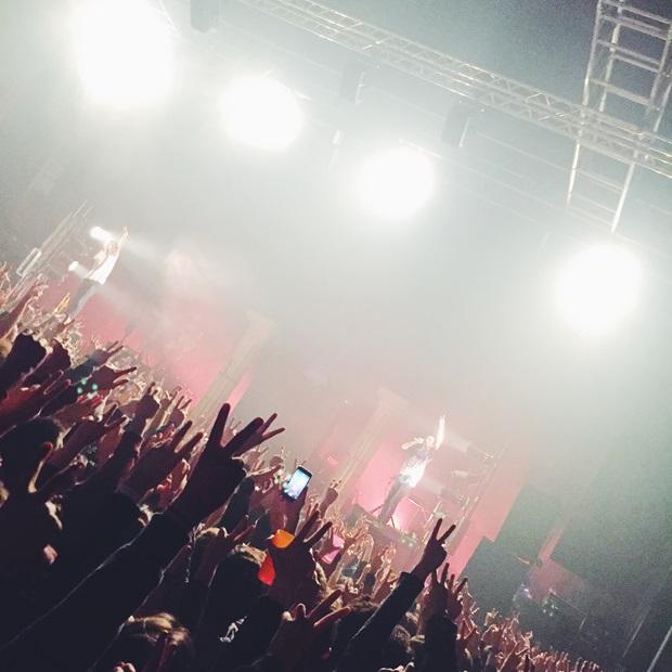 Konsertopplevelse på utveksling