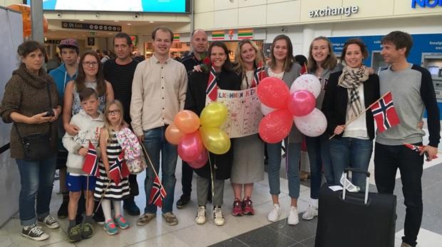 Hjemme i Norge etter utveksling i Frankrike!