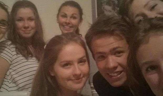 Utvekslingsstudent med Franske venner