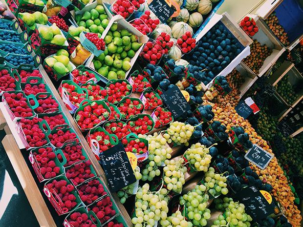 Fruktbod i Frankrike