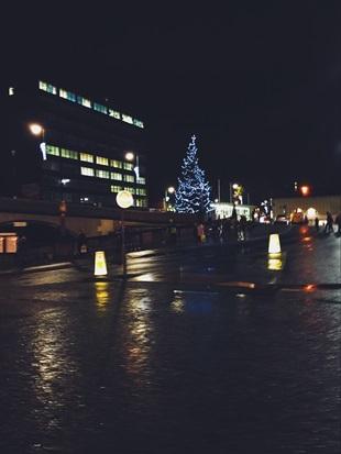 Juletre i England
