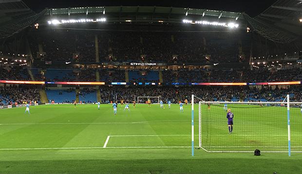 Fotballkamp i England